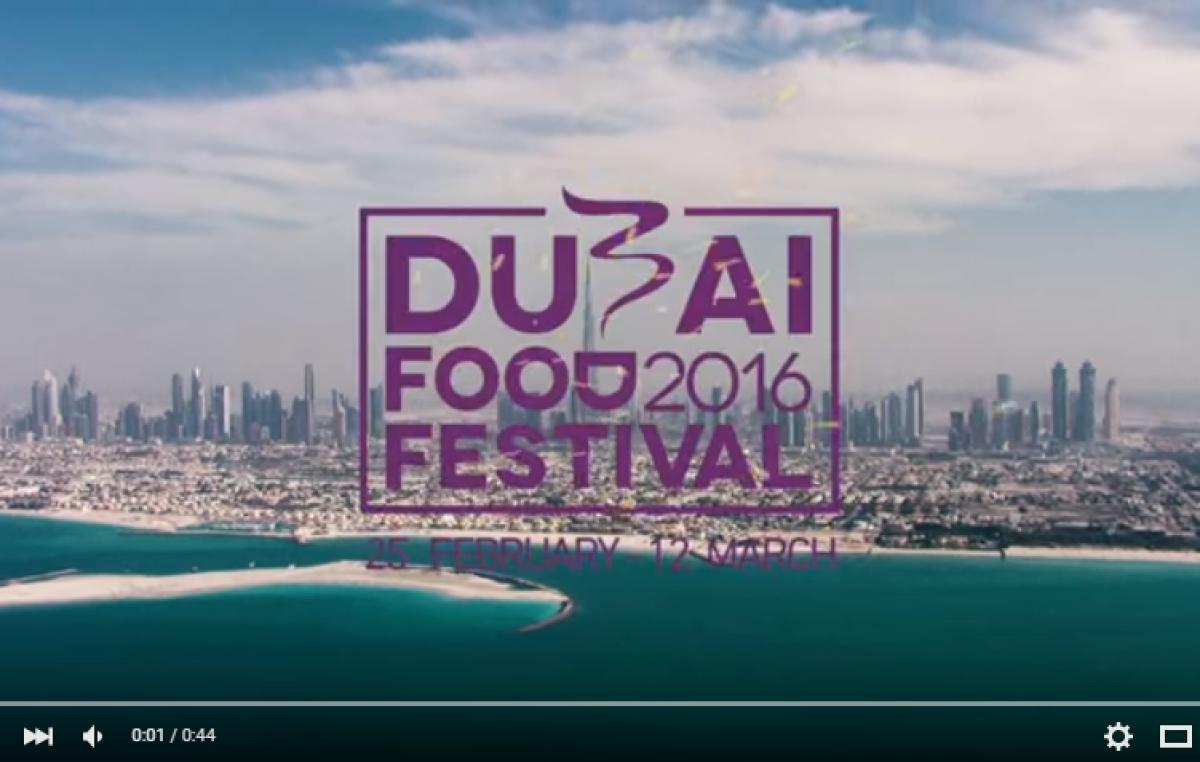 Video Report: Dubai Food Festival 2016