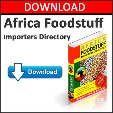 Foodstuff Africa Market: Importers, Buyers in African